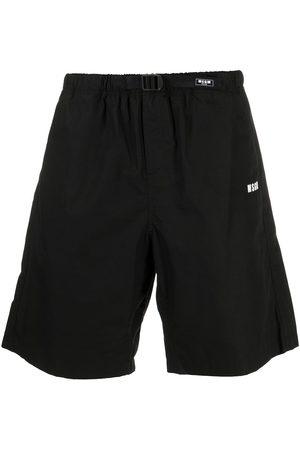 MSGM Logo-print shorts