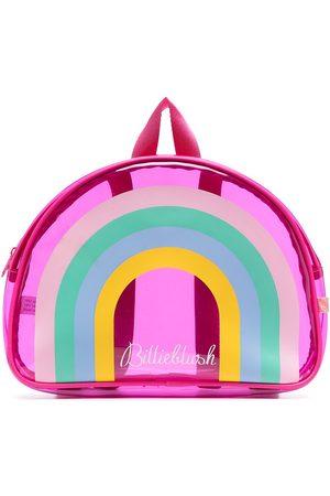 Billieblush Girls Rucksacks - Rainbow-print transparent backpack