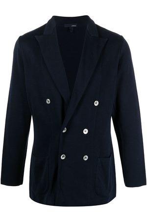 LARDINI Peak-lapels double-breasted blazer
