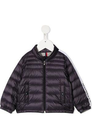 Moncler Enfant Logo-trim padded jacket