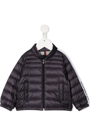 Moncler Logo-trim padded jacket