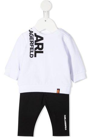 Karl Lagerfeld Sets - Logo print tracksuit set