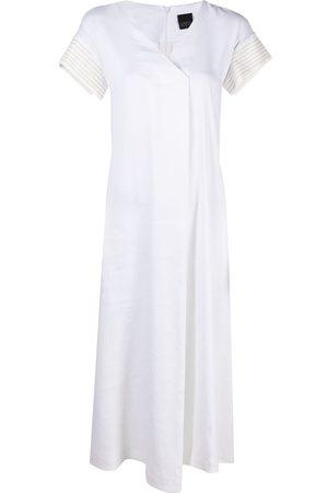 Lorena Antoniazzi Wrap back midi dress