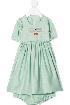 Stella McCartney Kids Butterfly lace-detail dress