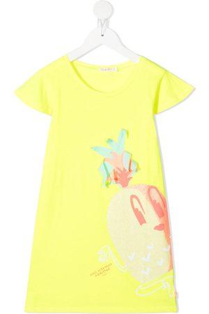 Billieblush Pineapple print T-shirt dress