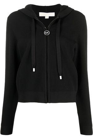 Michael Michael Kors Women Hoodies - Logo-stripe hoodie