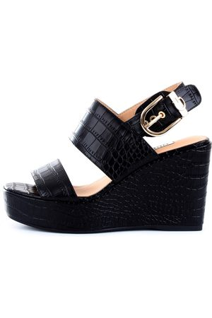 Guess Women Wedges - With wedge Women Leather