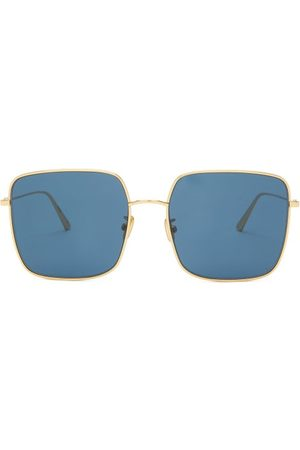 Dior Women Square - Stellaire Square Metal Sunglasses - Womens