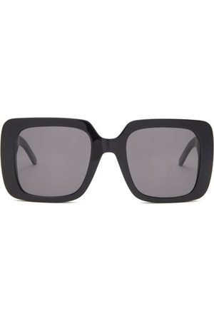 Dior Wil Oversized Square Acetate Sunglasses - Womens