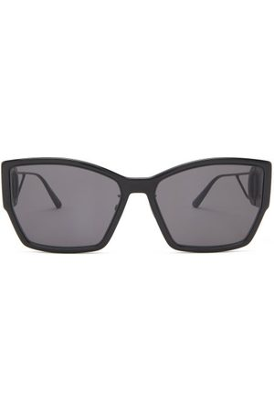 Dior Women Sunglasses - 30montaigne Rectangle Acetate Sunglasses - Womens - Grey