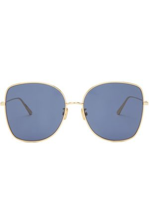 Dior Stellaire Square Metal Sunglasses - Womens