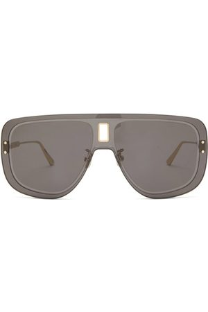 Dior Ultra Aviator Acetate Sunglasses - Womens - Grey