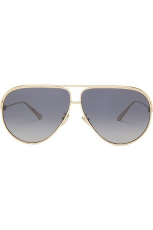 Dior Ever Aviator Metal Sunglasses - Womens - Grey