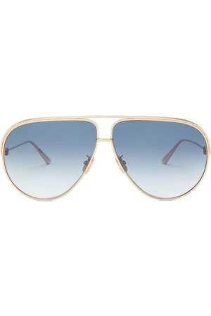 Dior Ever Aviator Metal Sunglasses - Womens