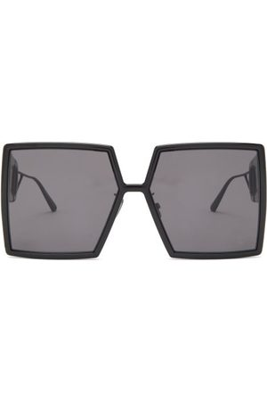 Dior 30montaigne Square Acetate Sunglasses - Womens