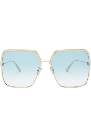 Dior Ever Square Metal Sunglasses - Womens