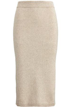 Ralph Lauren Women Pencil Skirts - Mouliné Cashmere Pencil Skirt