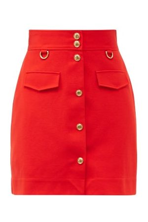 Givenchy Women Mini Skirts - High-rise A-line Skirt - Womens