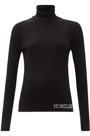 Moncler Women Tops - Ciclista Roll-neck Ribbed Wool Top - Womens