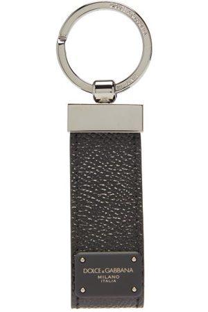 Dolce & Gabbana Men Rings - Leather Key Ring - Mens