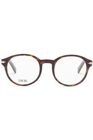 Dior Men Sunglasses - Blacksuit Round Acetate Glasses - Mens - Tortoiseshell