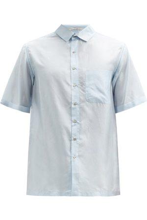 PÉRO Men Short sleeves - Short-sleeve Silk-voile Shirt - Mens - Light