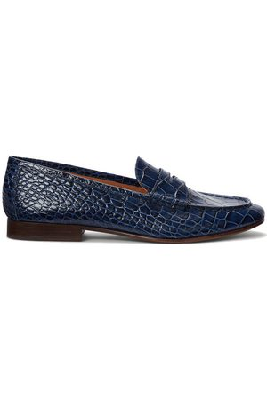 Polo Ralph Lauren Ashtyn Embossed Leather Loafer