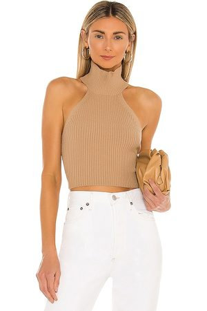 House of Harlow X REVOLVE Heather Halter Top in Nude.