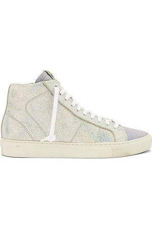 P448 Star High Top Sneaker in Metallic .