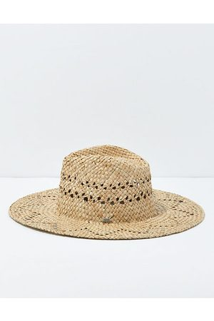 American Eagle Outfitters Women Hats - San Diego Hat Co. Seagrass Zig Zag Brim Hat Women's One Size
