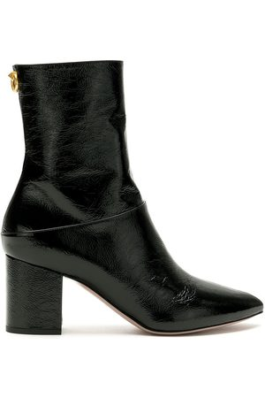 VALENTINO GARAVANI High-shine leather booties