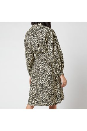 Munthe Women Printed Dresses - Women's Salvia Leopard Dress