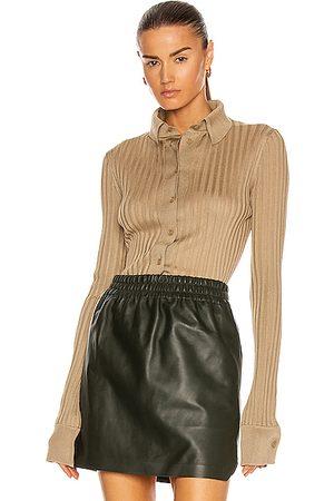 Bottega Veneta Light Weight Silk Rib Sweater in