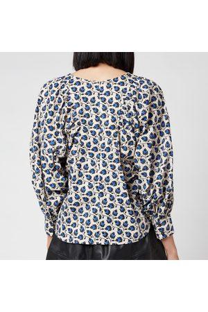 Munthe Women's Sabrin Puff Sleeve Blouse