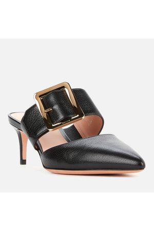 Bally Women's Jemina 55 Leather Heeled Mules