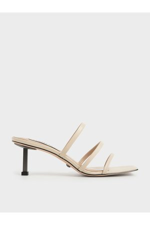 CHARLES & KEITH Strappy Heeled Mules