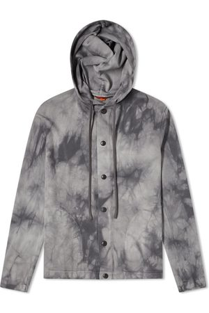 BARENA Men Neckties - Tie Dye Hooded Overshirt