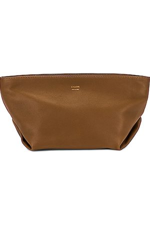 Khaite Adeline Envelope Pleat Crossbody Bag in
