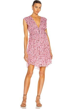 Isabel Marant Segun Dress in Pink