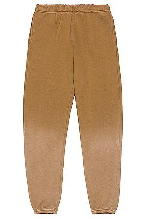 Les Tien Classic Sweatpant in Brown