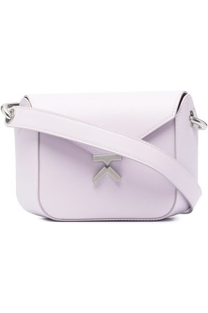 Kenzo K leather crossbody bag