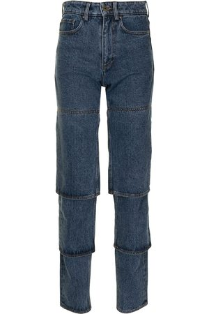 Y / PROJECT High-waist straight jeans