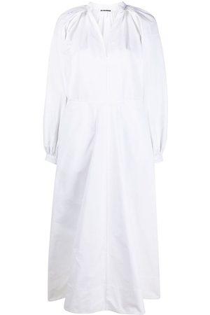 Jil Sander Pleat-detail tunic dress