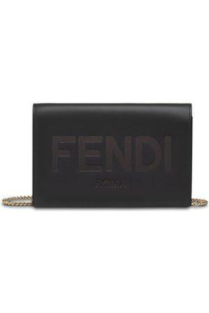 Fendi Chain strap wallet bag