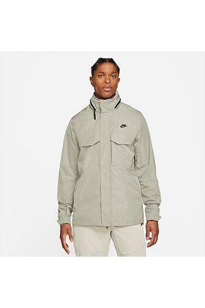 Nike Men's Sportswear M65 Jacket in /Light Army Size Small Nylon/Polyester
