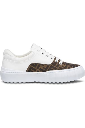 Fendi Panelled FF-motif sneakers