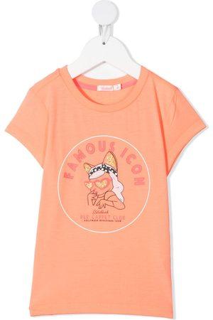 Billieblush Girls T-shirts - Famous Icon mascot T-shirt