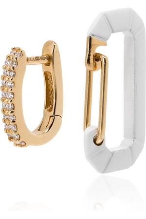 EÉRA 18kt yellow gold Chiara diamond earring