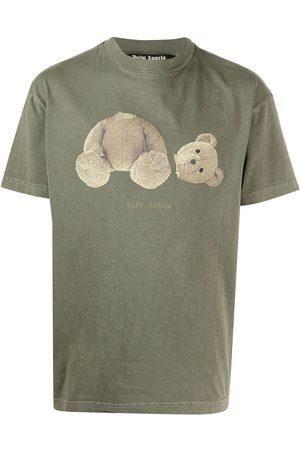 Palm Angels Logo bear-print T-shirt