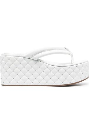 Le Silla Quilted platform sandals